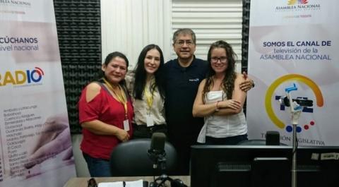 """Janeth Guerrero - Derechos por un amor responsable, Verónica Espinel - abogada, Cristina Almeida - Nina Warmi, """"Lo Dices Tú, Lo Digo Yo"""""""