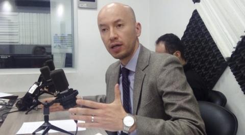Santiago Andrade,  director de Gestión de Cartera del IESS