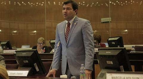 César Litardo - Coordinador del bloque legislativo de AP