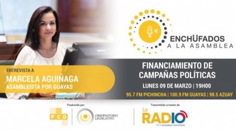Marcela Aguiñaga, asambleísta por Guayas