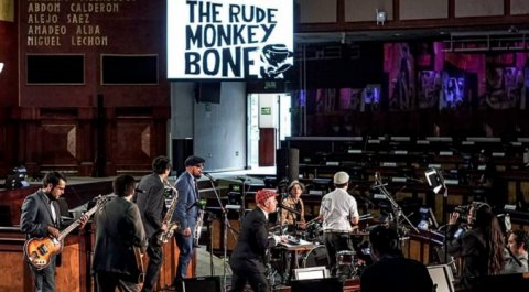 La Caja Ronca presenta The Rude Monkey Bones