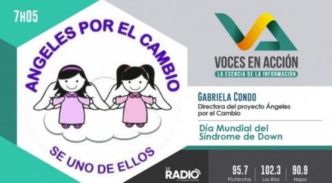 Gabriela Condo - Directora del proyecto Ángeles por el Cambio