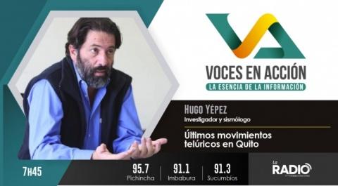 Hugo Yépez - Investigador y sismólogo