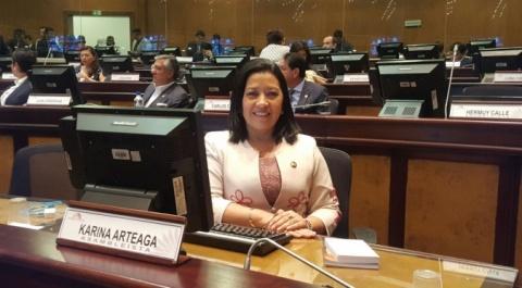 Karina Arteaga - Asambleísta por Manabí