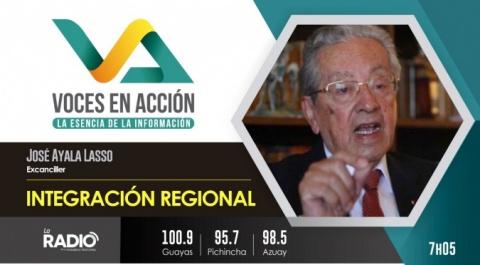 José Ayala Lasso - Exministro de Relaciones Exteriores