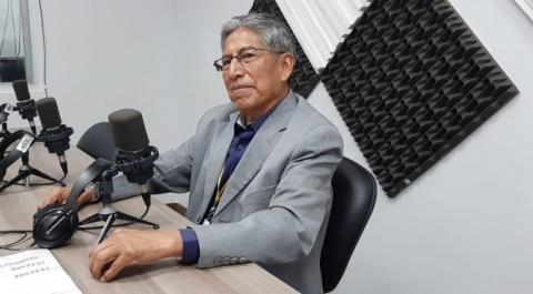 José Guallichico - Coordinador del Centro Comercial Mayorista de Productos Andinos