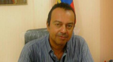 Byron Aparicio, alcalde de Atacames