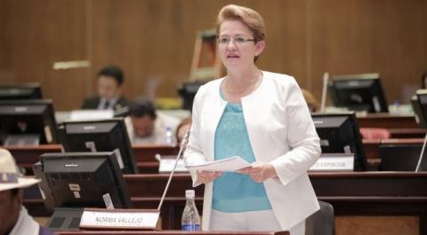 Asambleísta Norma Vallejo