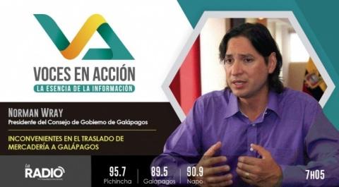 Norman Wray - Presidente del Consejo de Gobierno de Galápagos