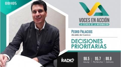 Pedro Palacios - Alcalde electo de Cuenca
