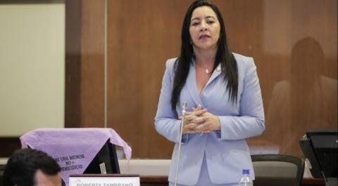 Roberta Zambrano - Prefecta electa de Esmeraldas