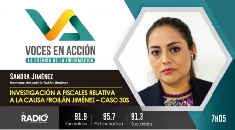 Sandra Jiménez - Hermana de Froilán Jiménez
