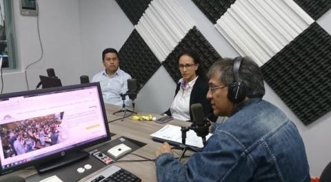 """María Holguín - Grupo Lila, Mario Benitez - World Vision, """"Lo Dices Tú, Lo Digo Yo"""""""