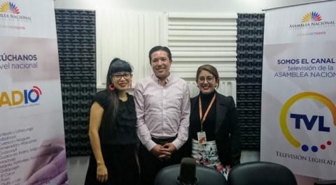 """Daniel Rueda - Fundación Alas de Colibrí, Gabriela Calvache - Cineasta """"La Mala Noche"""", """"Lo Dices Tú, Lo Digo Yo"""""""