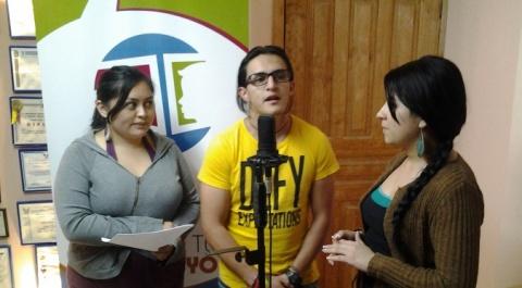 Juan Gabriel Alvarez, Doris Vaca y Lorena Piñán en Lo Dices tú Lo Digo Yo