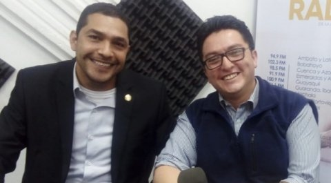Asambleísta César Solórzano