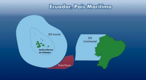 Gráfico publicado por la Cancillería de Ecuador.