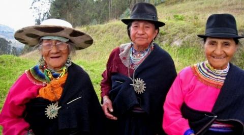 Mujeres Saraguro
