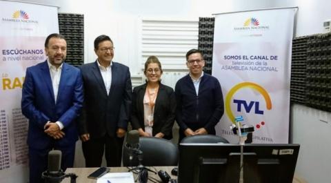 """Pabel Muñoz - GPODS, Franklin Samaniego - GPDNNA, Julio López - Grupo Faro, """"Lo Dices Tú,Lo Digo Yo"""""""