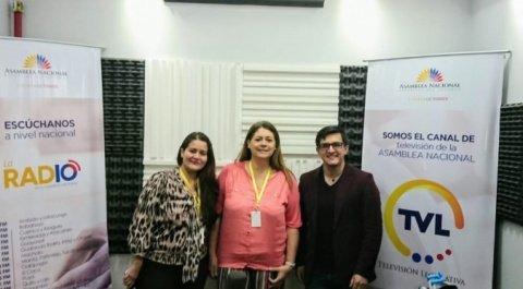 """Leisa Zambrano - Primeros auxilios sicológicos, María José Sevilla - Fundación Azulado, """"Lo Dices Tú, Lo Digo Yo"""""""