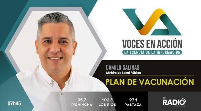 Camilo Salinas: Plan de vacunación