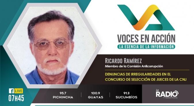 Ricardo Ramírez: Denuncias en la selección del concurso de jueces
