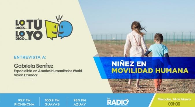 Niñez y movilidad humana en la frontera entre Ecuador y Perú