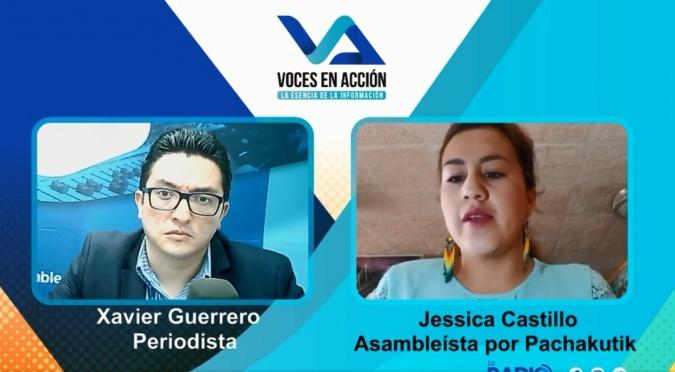 Voces en Acción - Jessica Castillo - La inseguridad en Quito