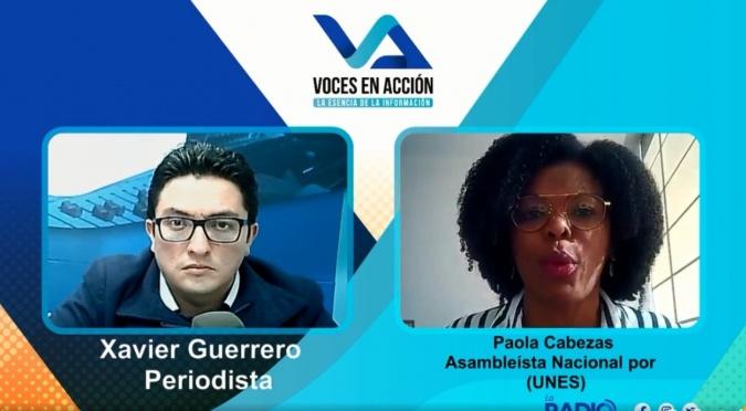 Paola Cabezas: Devolución del proyecto de ley de creación de oportunidades