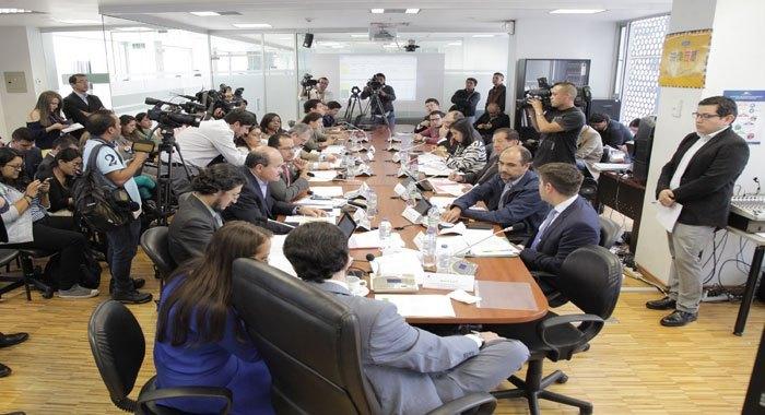Comisiones de Relaciones Internacionales, Régimen Económico y Desarrollo Económico