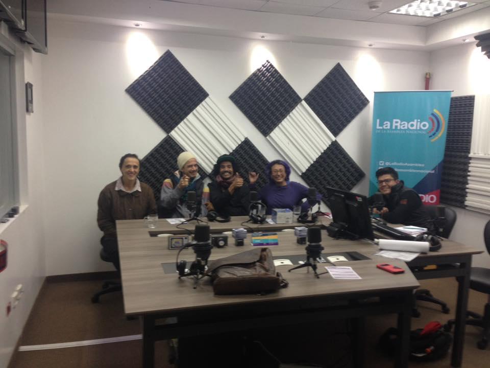 Entrevista a los chico del  V encuentro Internacional de Malabarismo