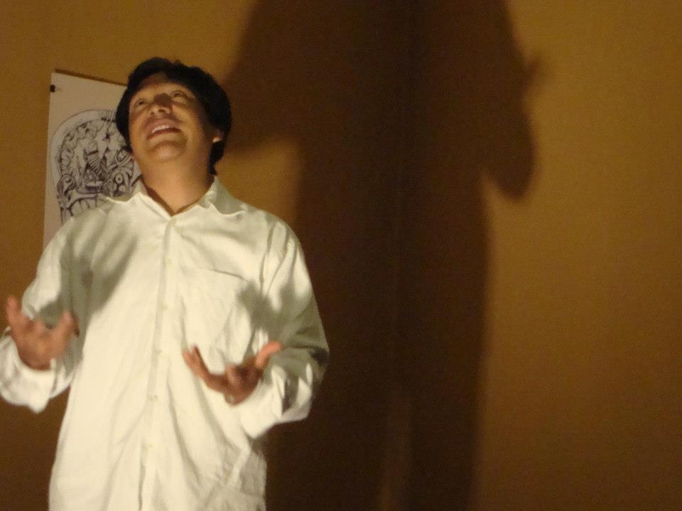 La Klaqueta Sonora-Entrevista a Mauricio Pantoja integrante del teatro Samadhi