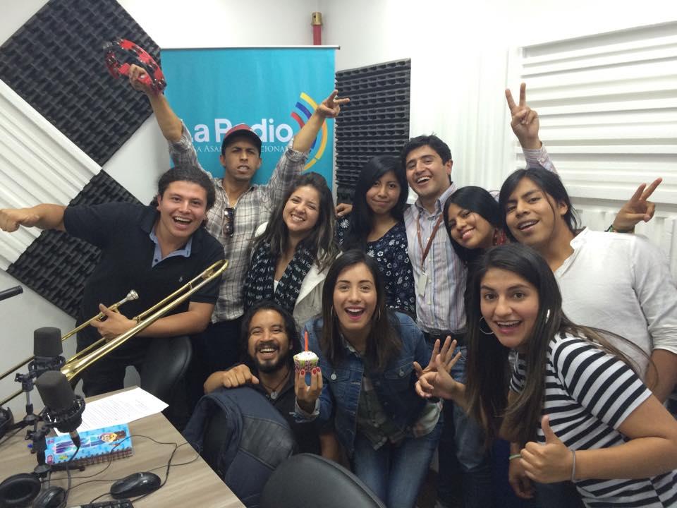 Programa de aniversario: Los jóvenes y la comunicación