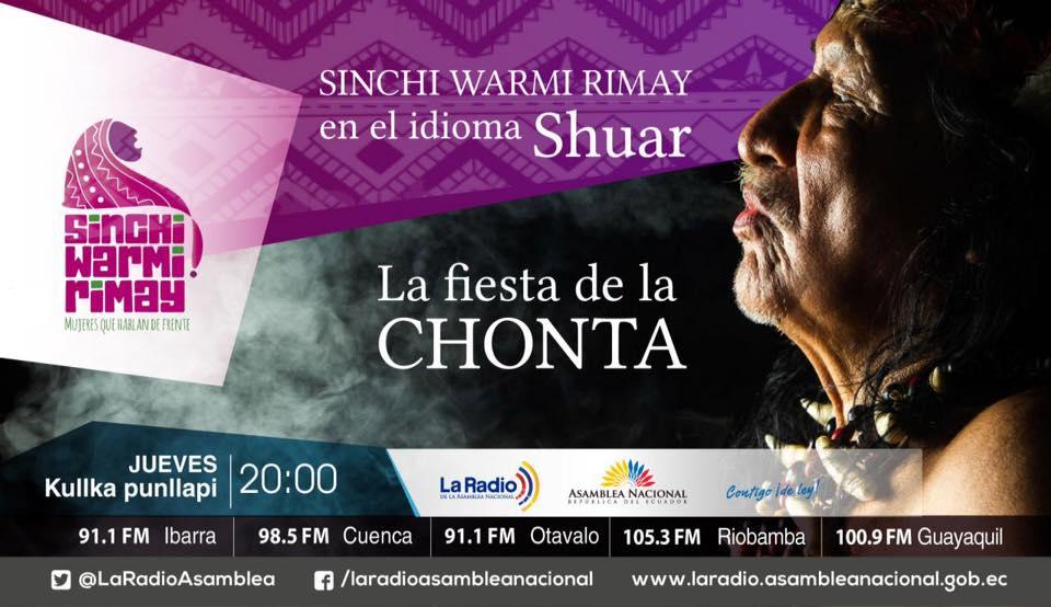 Sinchi Warmi en el idioma Shuar