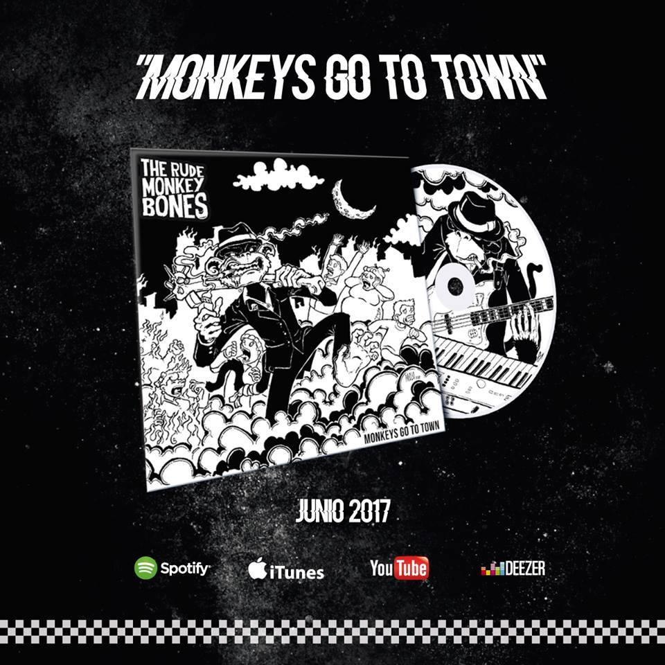 Nuevo disco The Rude Monkey Bones