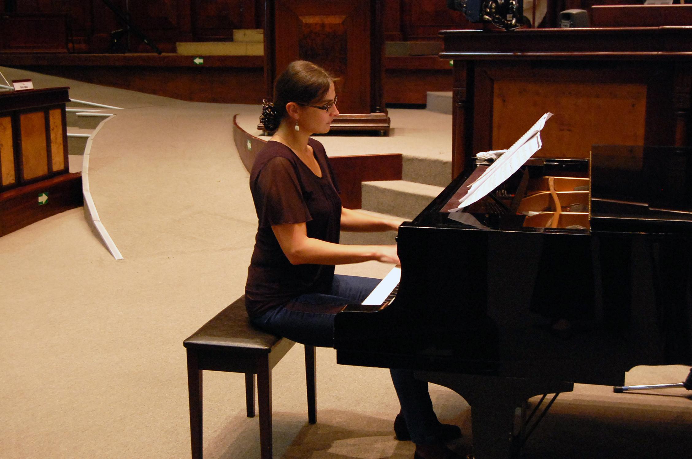 MARIMBA Y PIANO