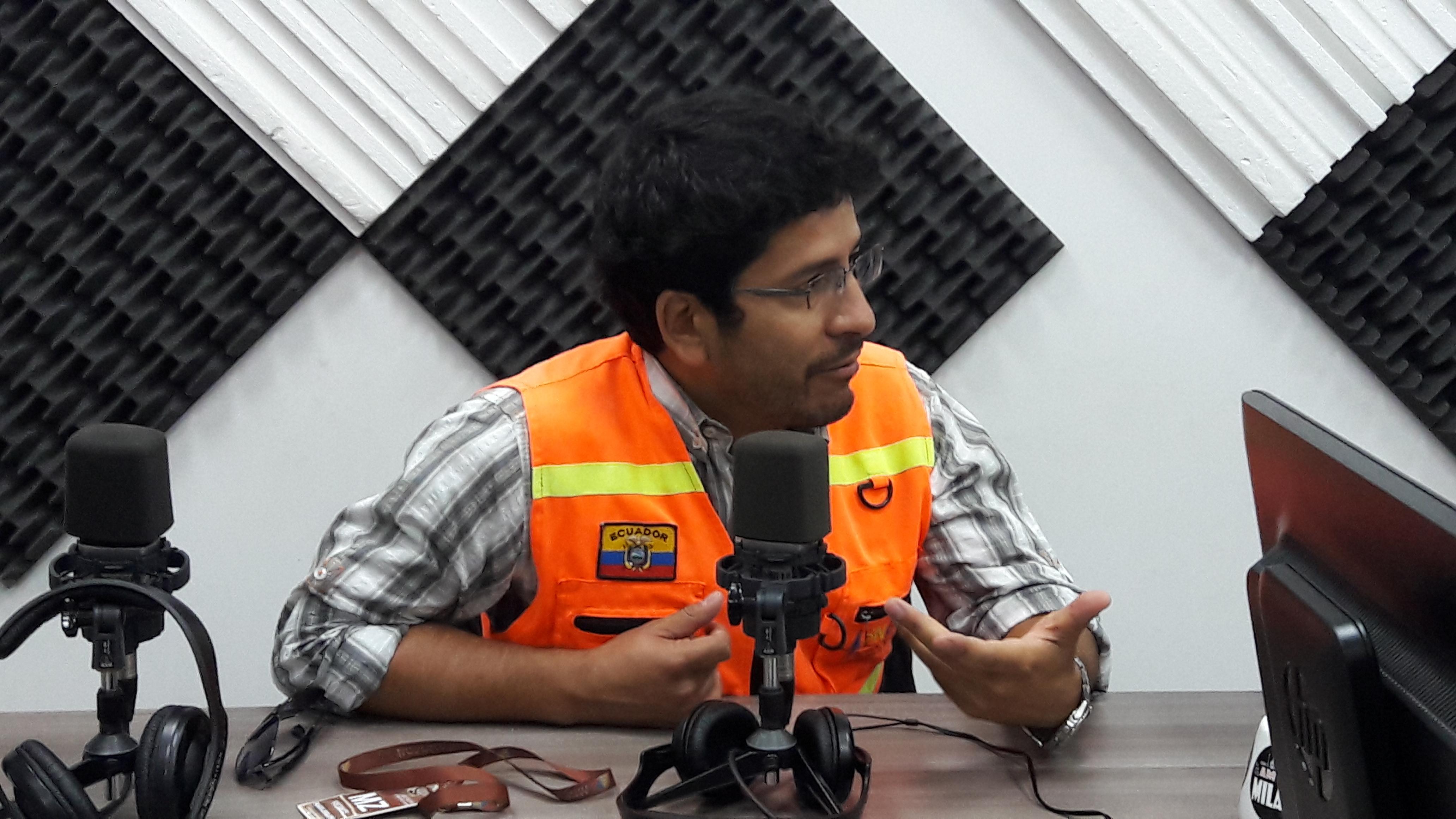 Eloy Basantes: SGR  se prepara para época de lluvias.