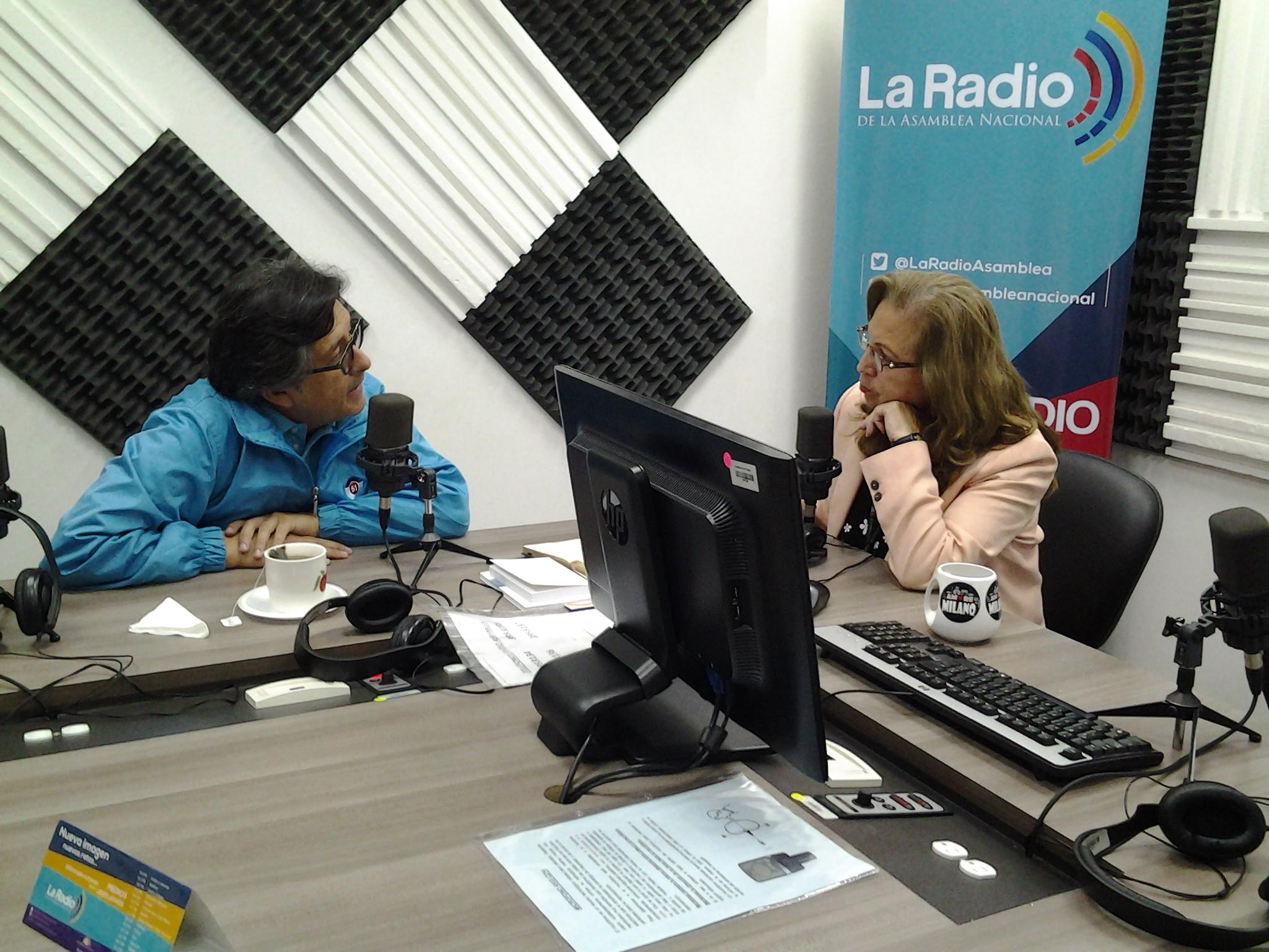"""Candidato César Montúfar: """" Se debe fiscalizar desde la legislatura"""""""