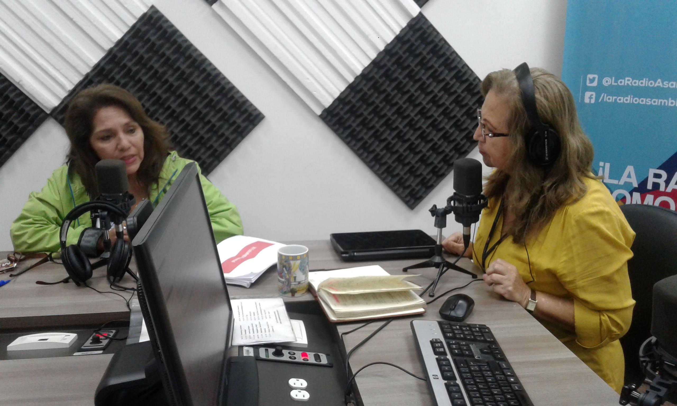 "Candidata Priscila Naranjo: ""Como artista representaré a mis compañeros"""