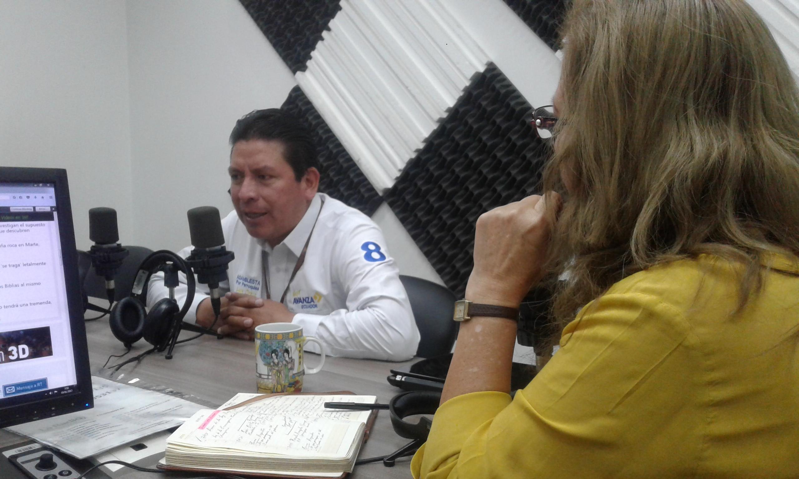 """Candidato Luis Ortíz: """"Trabajaré por el microemprendimiento"""""""