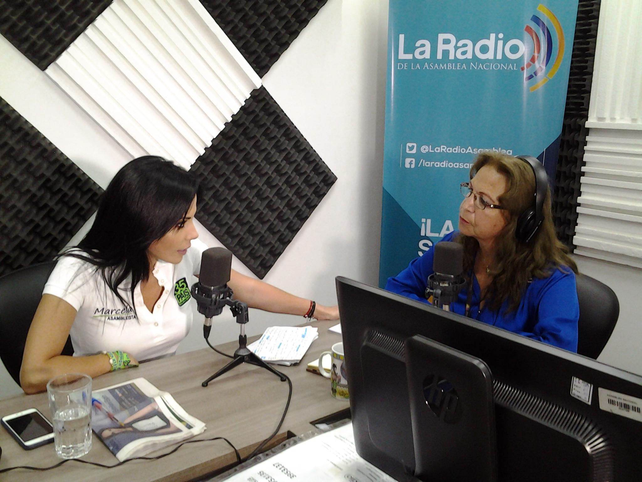 """Candidata Marcela Holguín: """"Trabajaremos en fortalecer los emprendimientos"""""""