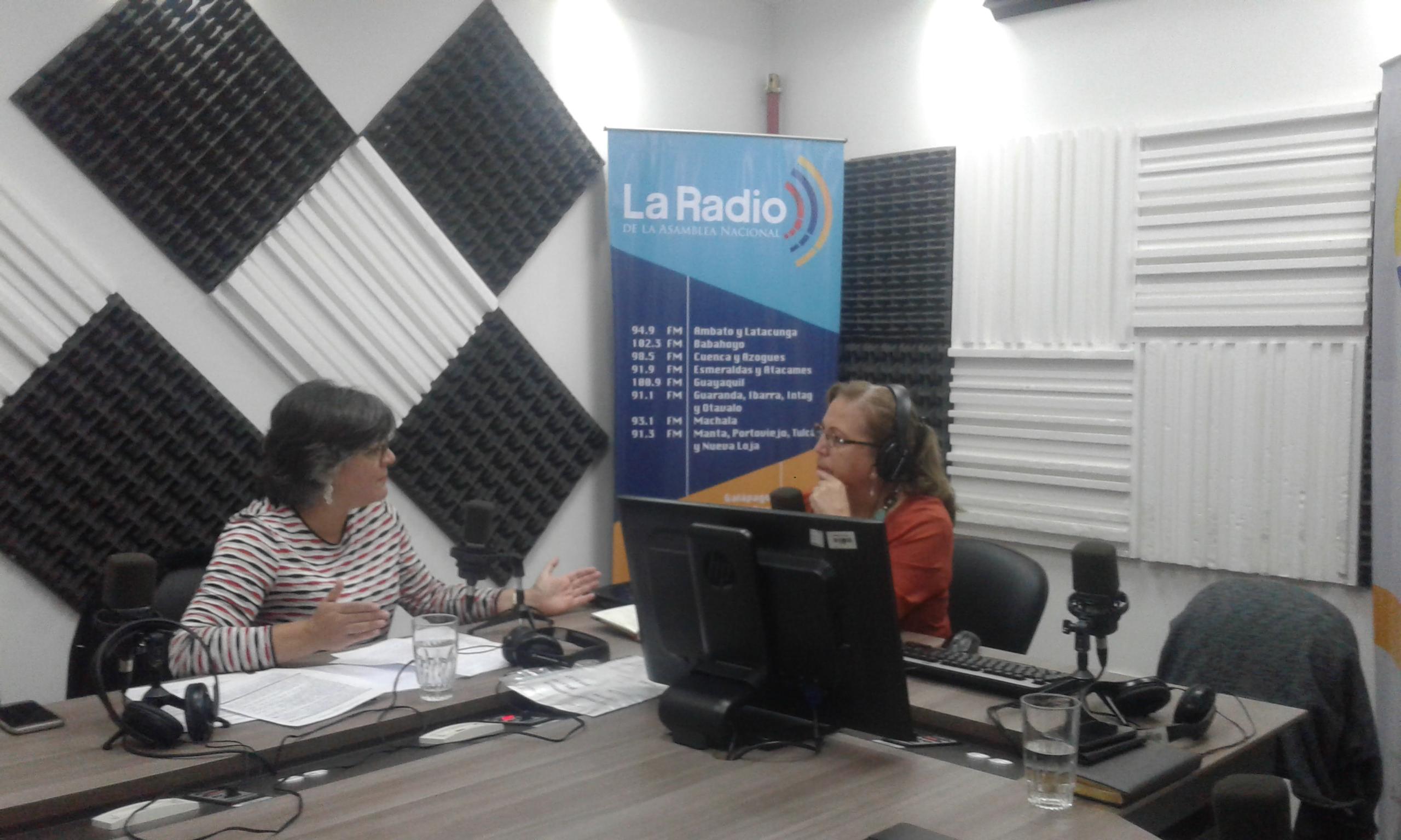 María Ximena Vintimilla : Relanzamiento de la Brigada las Manuelas
