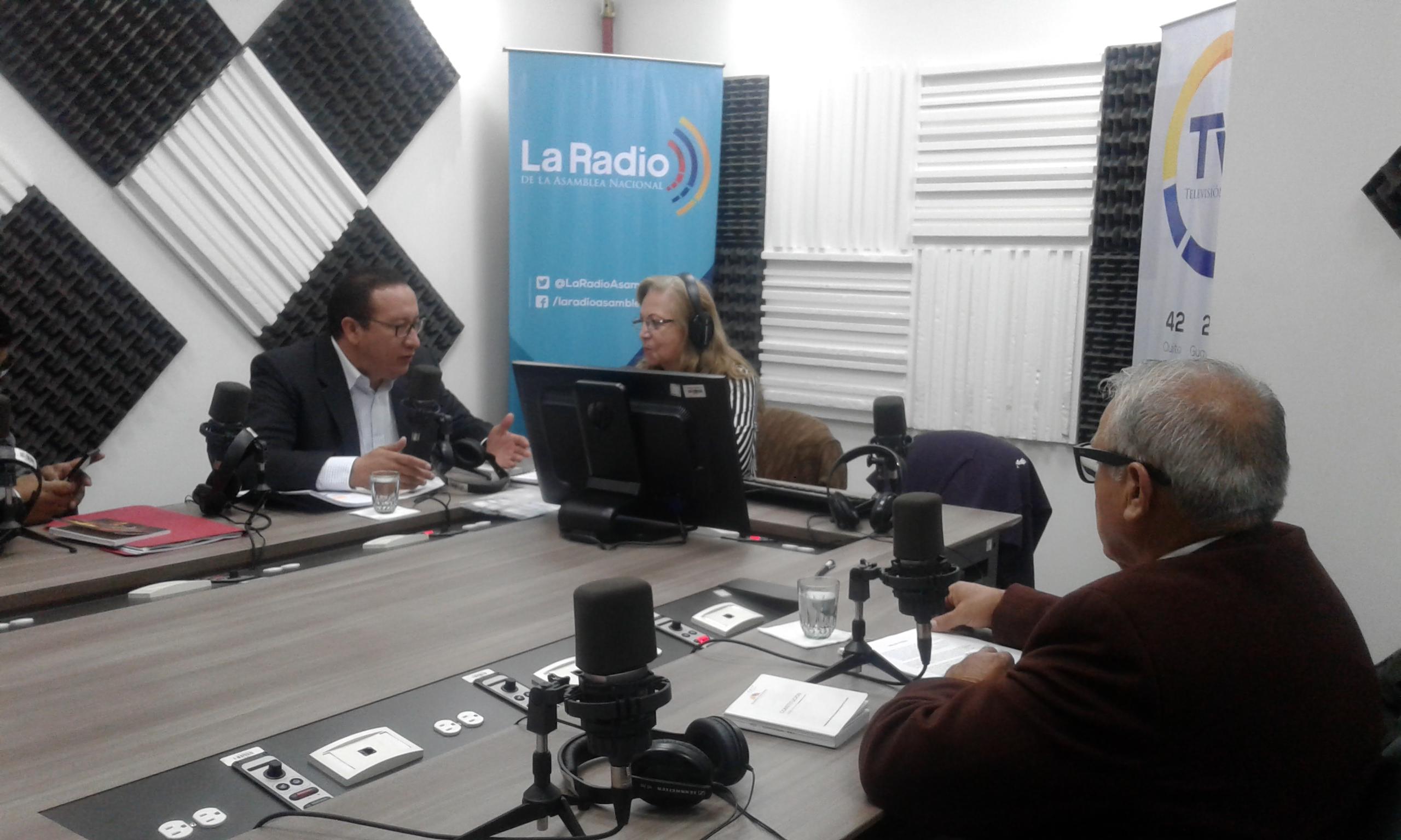 Fafo Gavilánez y René Yandún : Código de Seguridad Ciudadana.