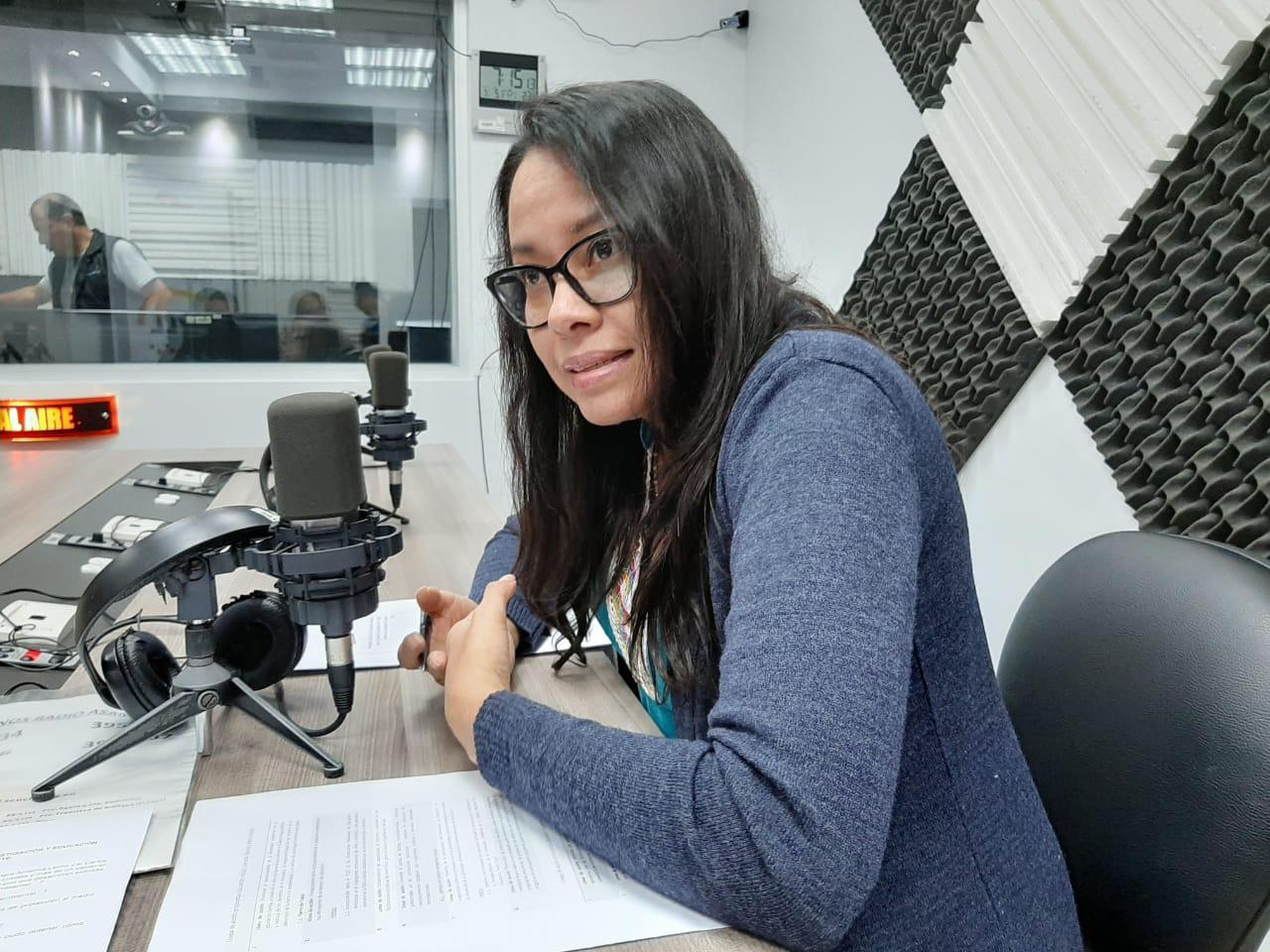 Paulina Velasteguí:  Formación ambiental para América Latina y el Caribe