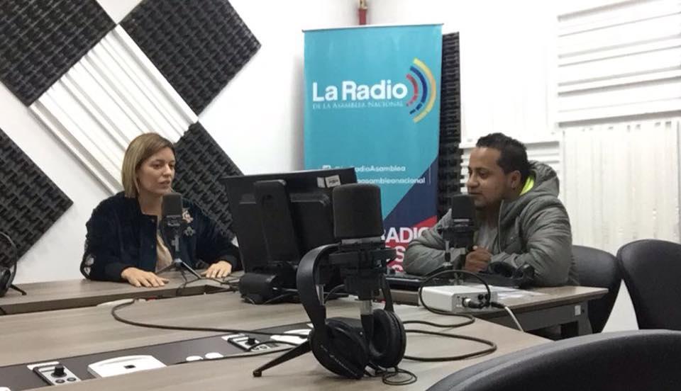 El Duende de la Calle Quito presenta entrevista a Paola Navarrete