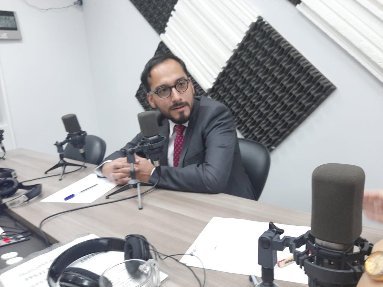 Pablo Jiménez: Lucha  en contra del contrabando.
