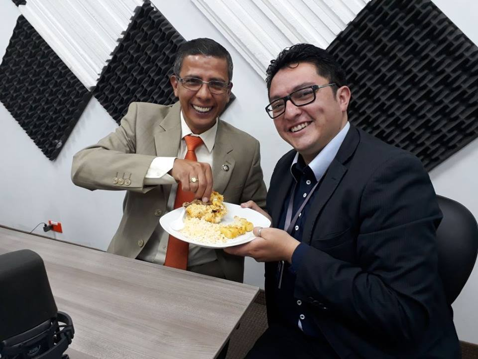 Eddy Peñafiel: Un orense con su corazón en Orellana