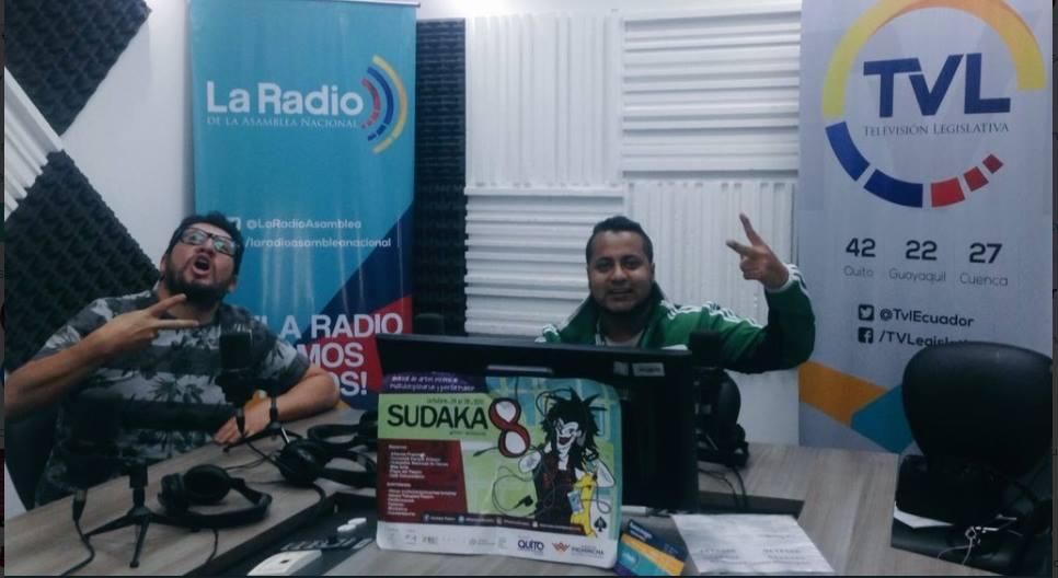 El Duende de la Calle Quito presenta entrevista a Festival Sudaka
