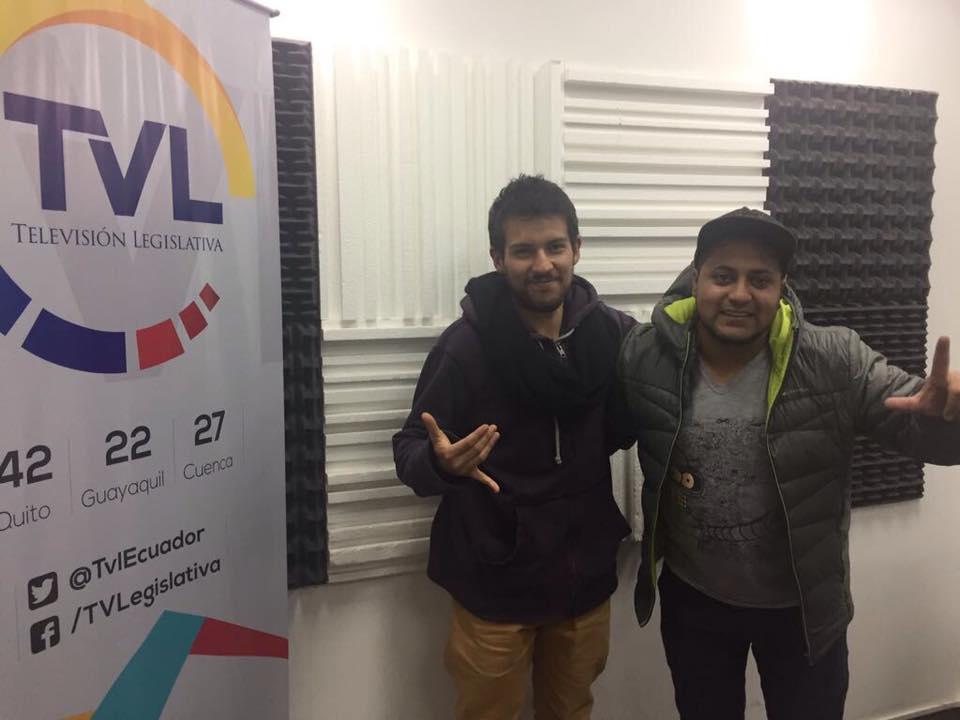 El Duende de la Calle Quito presenta entrevista Santi D