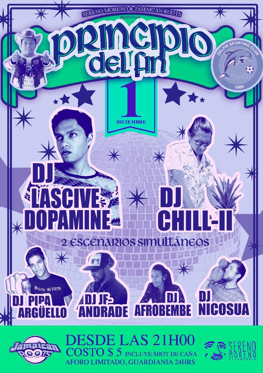Principio DelFín Dubstep Party